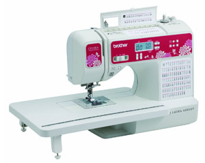 Brother Laura Ashley CX155LA Quilting Machine
