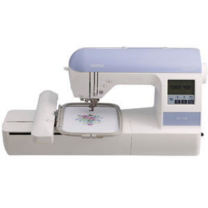 Brother PE770 5x7 inch Embroidery machine