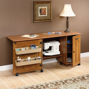 Sauders Folding Sewing/Craft Table