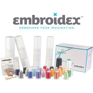 Embroidex Embroidery Machine Starter Kit