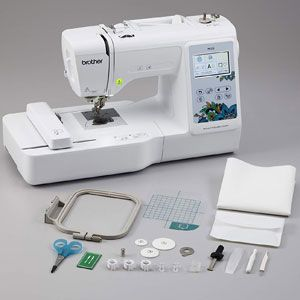 Brother PE535 80 Built-in Embroidery Machine